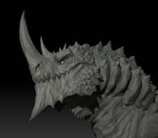 3D Briarga Sketch - no color 2
