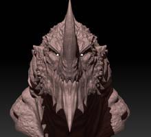 3D Briarga Sketch - no color 3