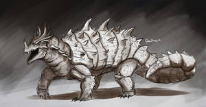 Anguirus Monstermarach