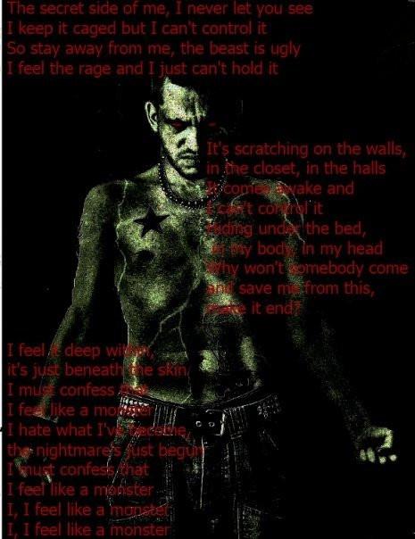 i feel like a monster by darkartistdomain on DeviantArt