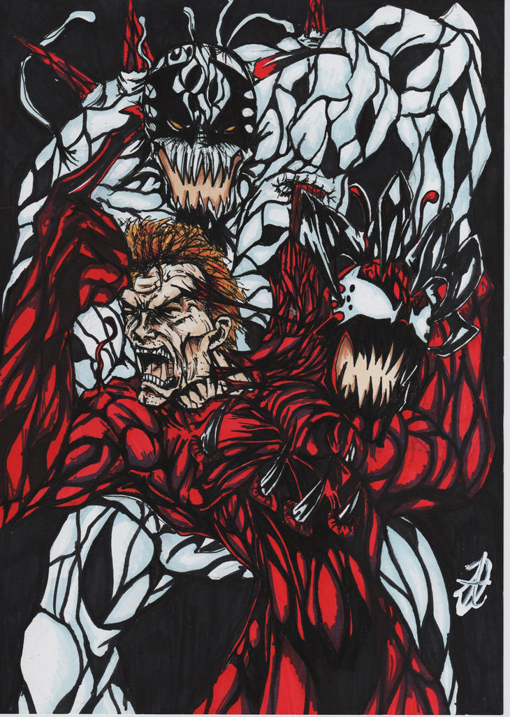 carnage vs anti carnage by darkartistdomain on DeviantArt