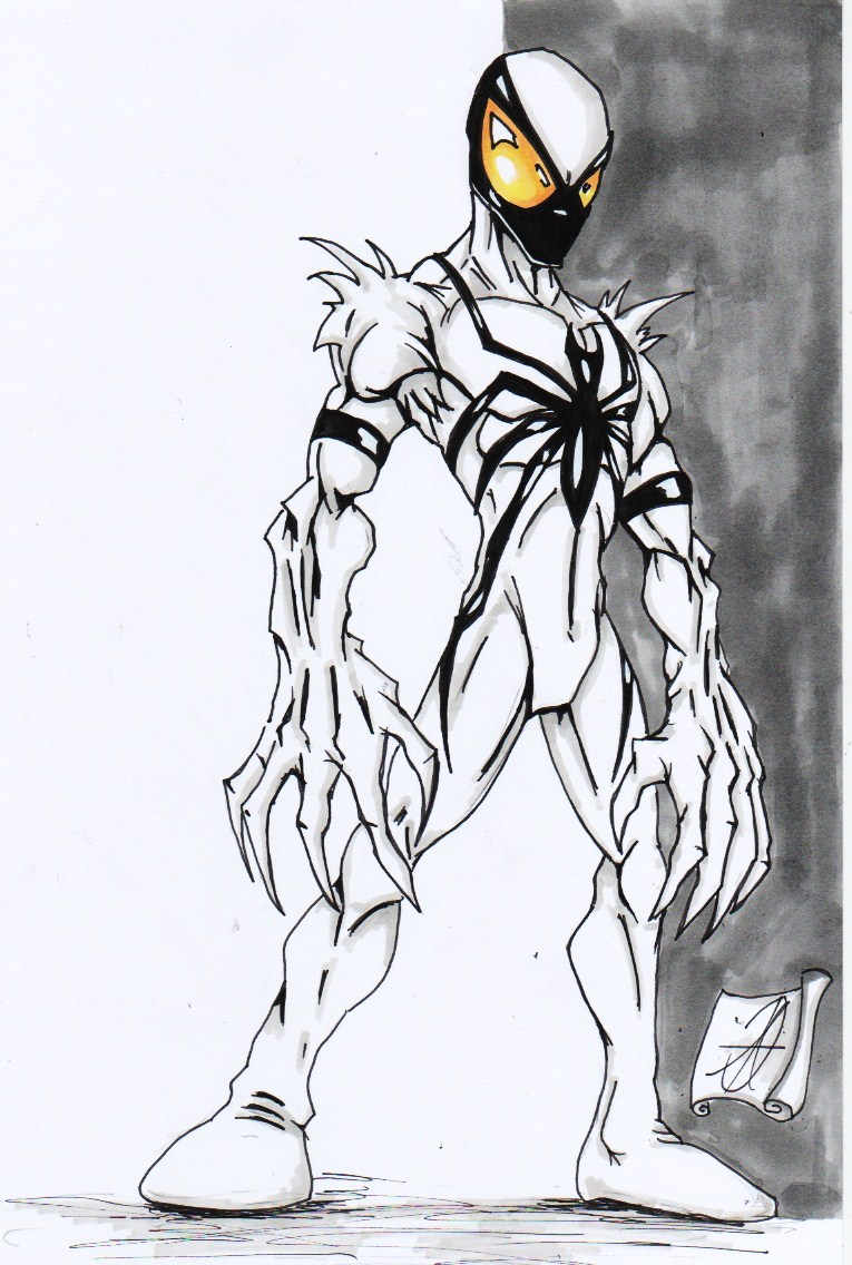 Venom spiderman art - photo#27