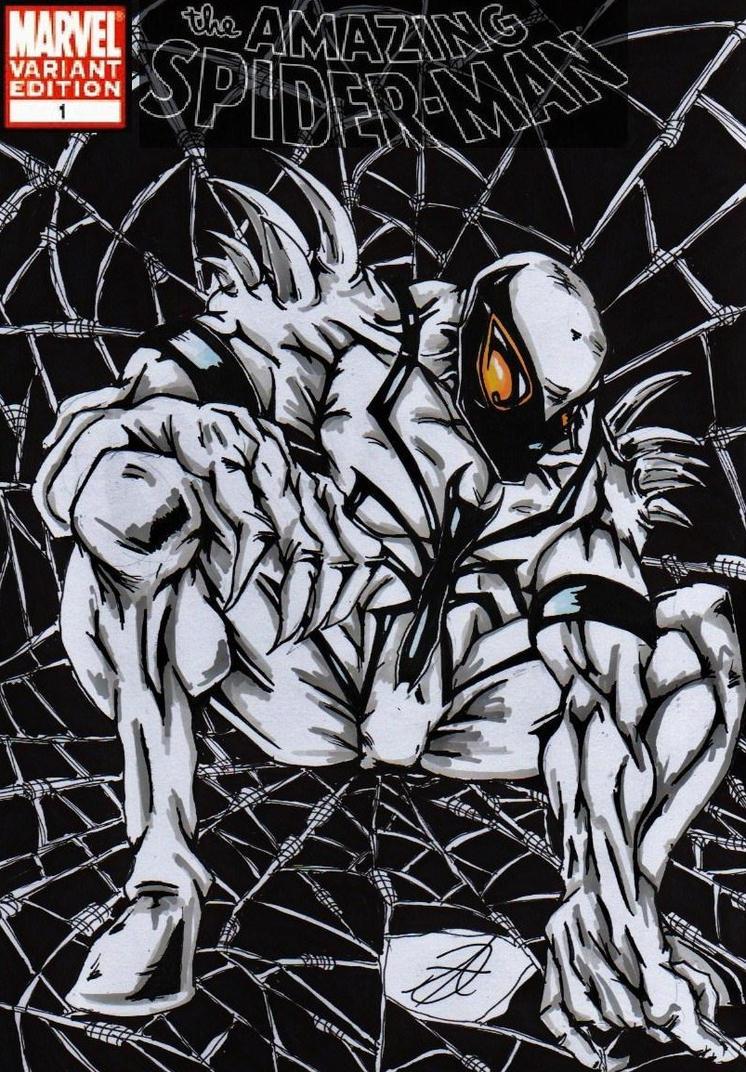 Anti venom vs spiderman