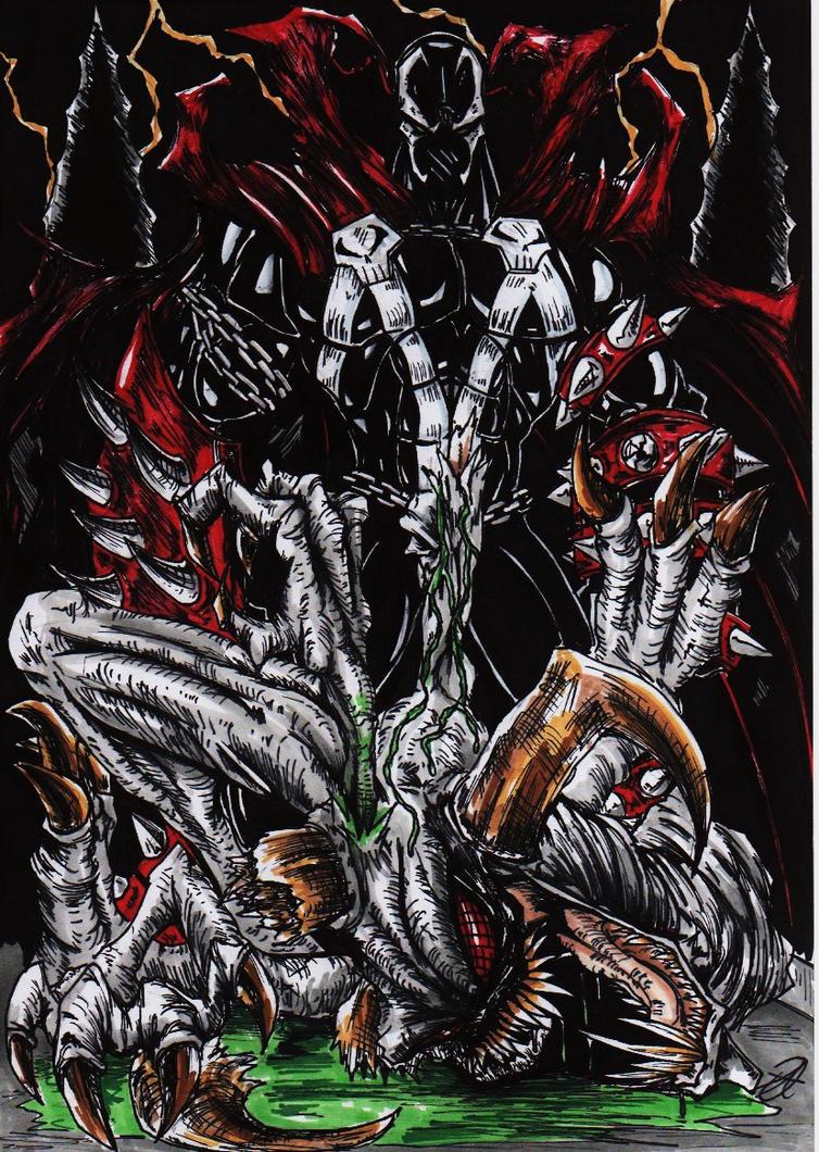 spawn vs violator colour by darkartistdomain