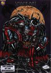 spiderbat comission prize by darkartistdomain