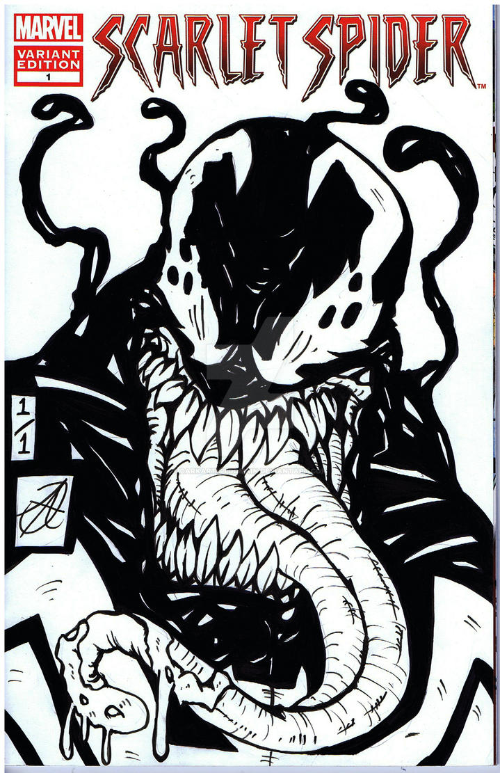 venom comic remark by darkartistdomain