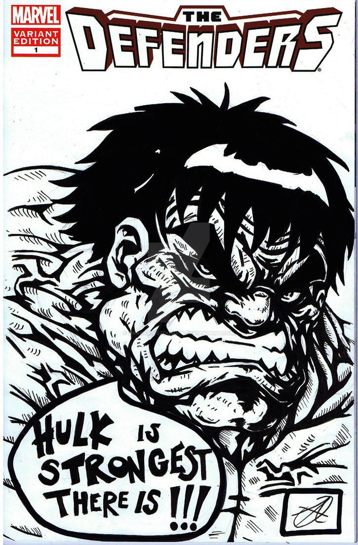 hulk comic remark by darkartistdomain