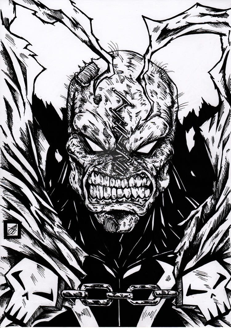 Spawn Inked by darkartistdomain