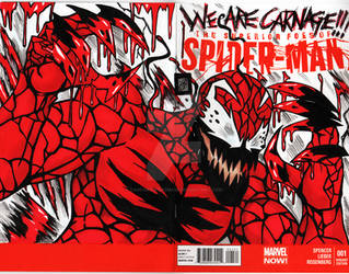 Carnage comic cover