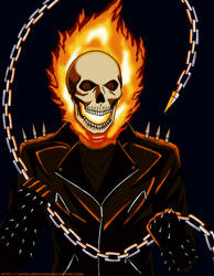 Ghost Rider Penance by LD-Polarization