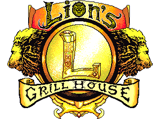 Lion's Grill House logo