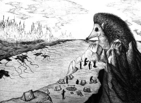 The Sanctuary of the Hedgehog God