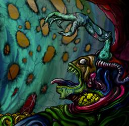 Pile monster