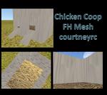 FH Chicken Coop Mesh