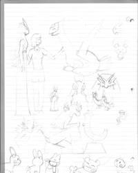 Art Dump 1 by makisensei