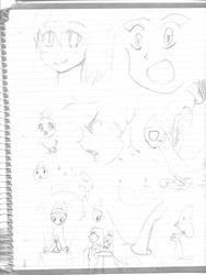Art Dump 2 by makisensei