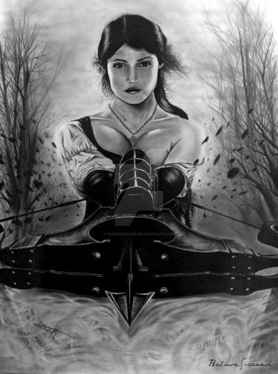 Gemma Arterton (Gretel) by ChrisStoner on DeviantArt