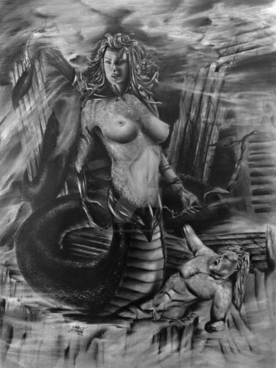 Medusa by ChrisStoner