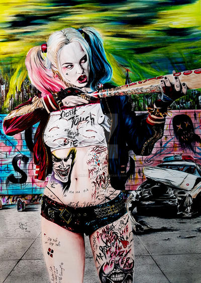 Harley Quinn Suicide Squad by ChrisStoner