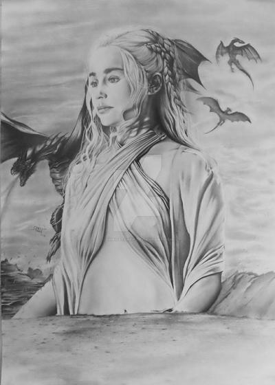 Daenerys by ChrisStoner