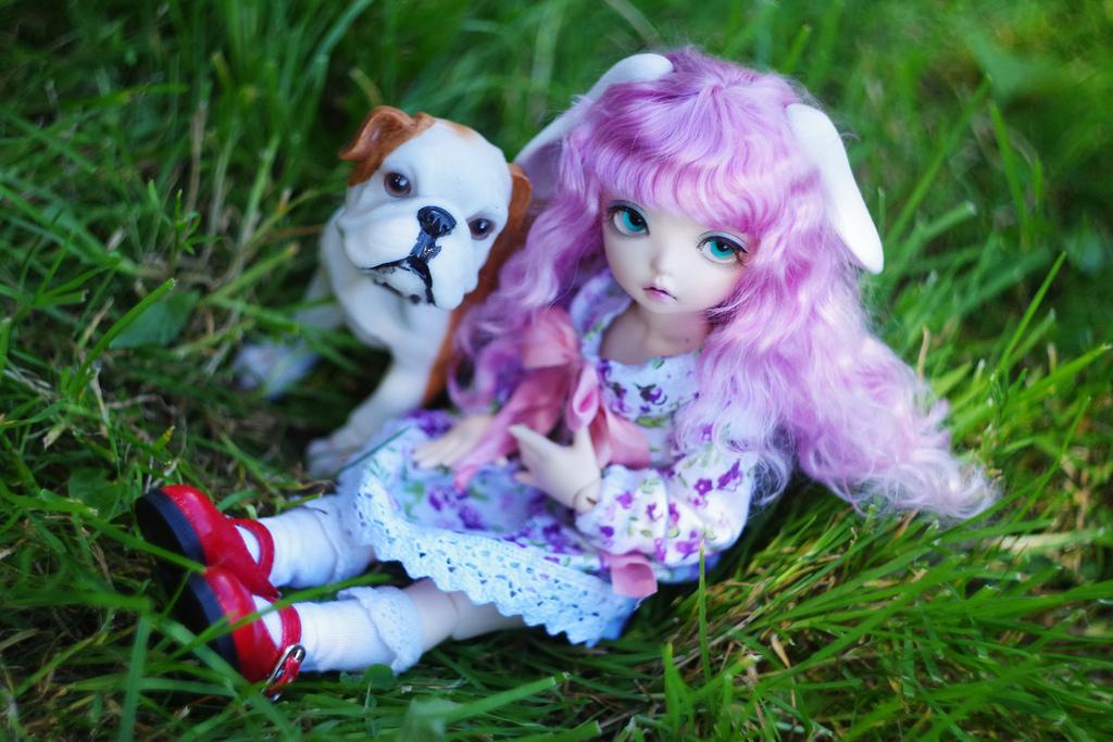My best friend by Rosaki