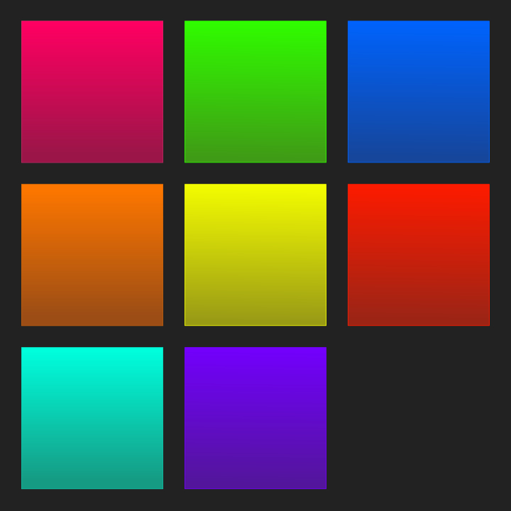Cool Web 2.0 Style Squares