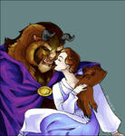Beauty and the Beast - Oekaki