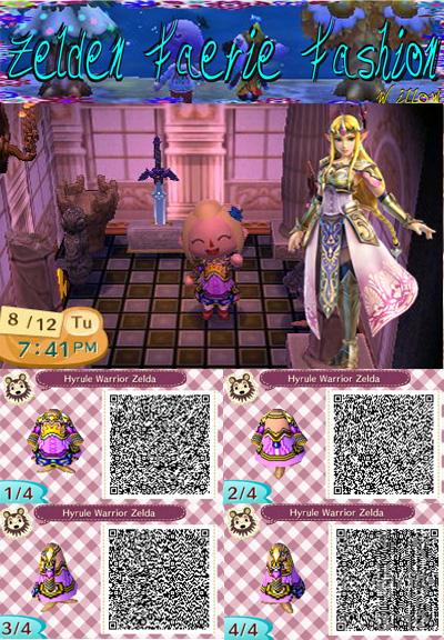 Hyrule Warriors Zelda: Animal Crossing New Leaf QR by ...