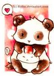 Panda huggles