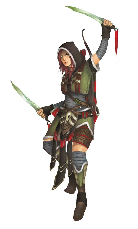 FEZ - Female Scout by Vablo