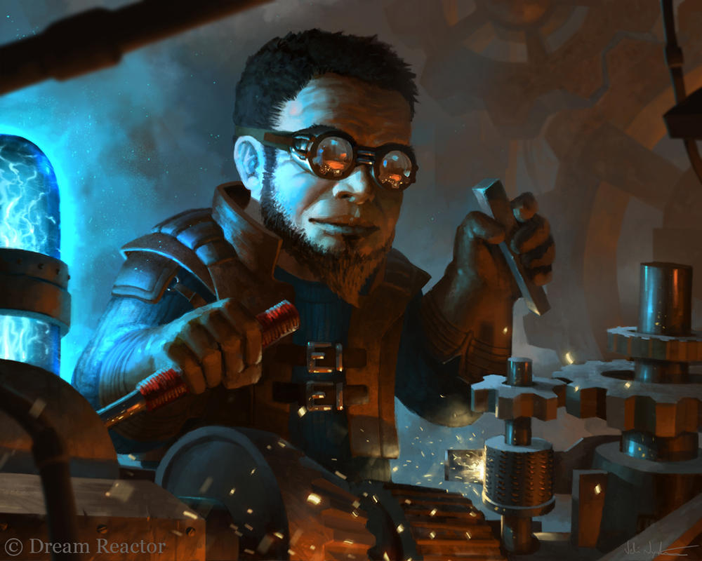 Gnome Artificer by Vablo