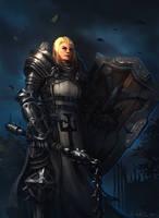 Female Crusader - Diablo III by Vablo
