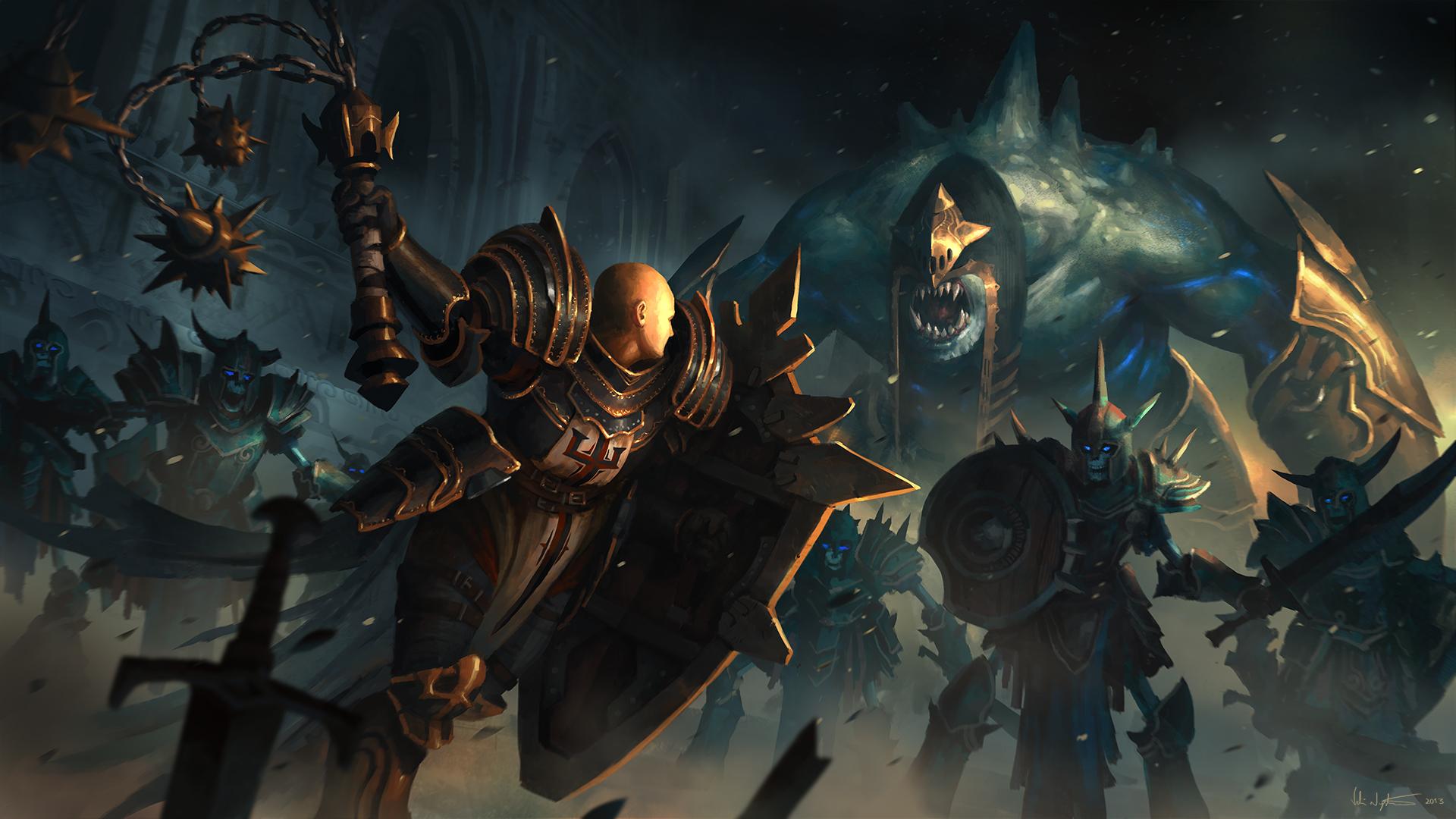 Diablo 3 Fanart - Crusader by m-hugo.deviantart.com on @deviantART ...