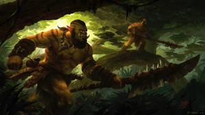The Hunt - World of Warcraft by Vablo