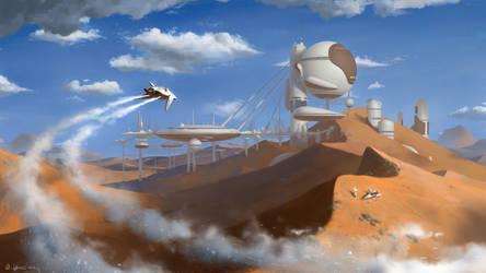 Desert Outpost by Vablo