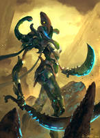 Alien Warrior by Vablo