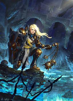 Female Crusader - Diablo III: Reaper of Souls