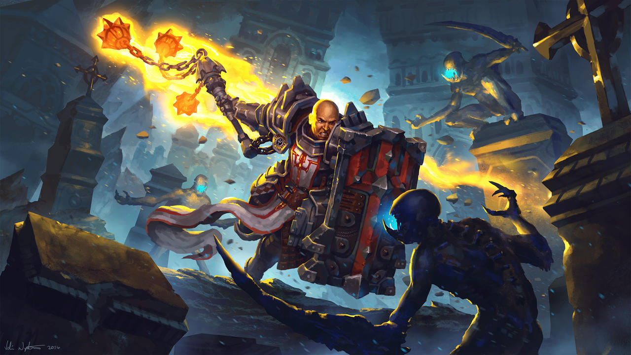 Burning Wrath - Diablo III: Reaper of Souls by Vablo