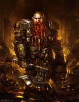 Dwarf Goldguard by Vablo