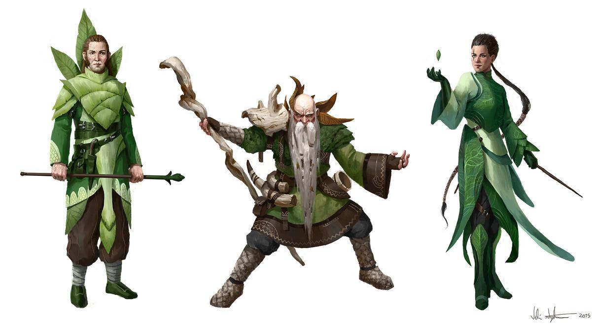 Nature Sorcerers by Vablo