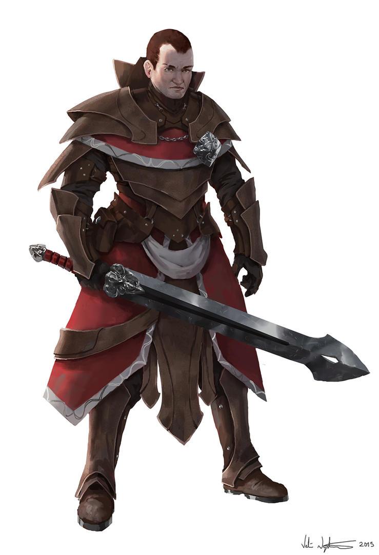 Swordsman by Vablo
