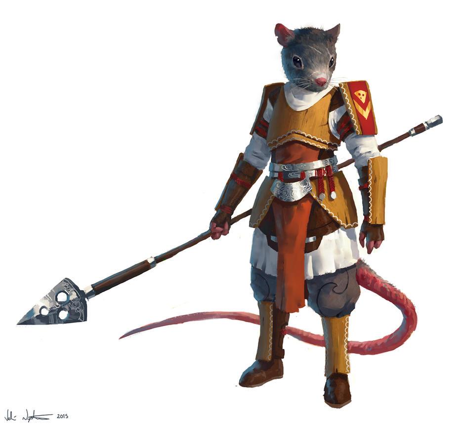 Rat Spearman by Vablo