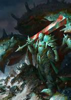 Crustacean Warrior by Vablo