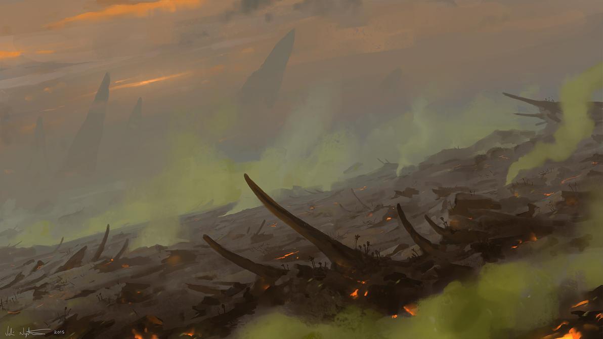 Dragonrock Wastes by Vablo