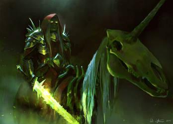 Unicorn Deathknight - THU2015 by Vablo