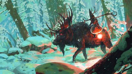 Finconauts Christmas Calendar 2015 by Vablo