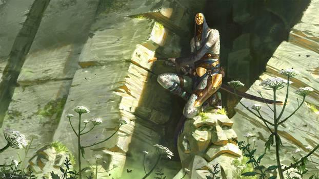 Tokra - The Goldskin Swordsman