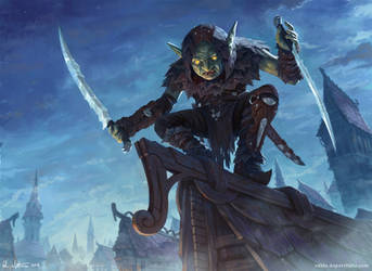 Goblin Assassin by Vablo