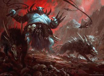 Demon Beastmaster by Vablo