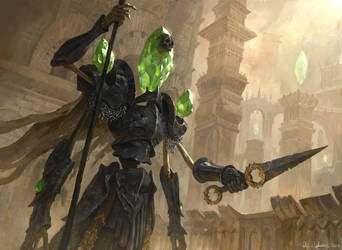 Artificial Guardian by Vablo
